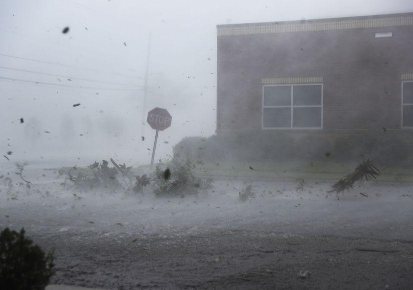Danger Zone: Ginger Zee & Lester Holt Face Hurricane Michael