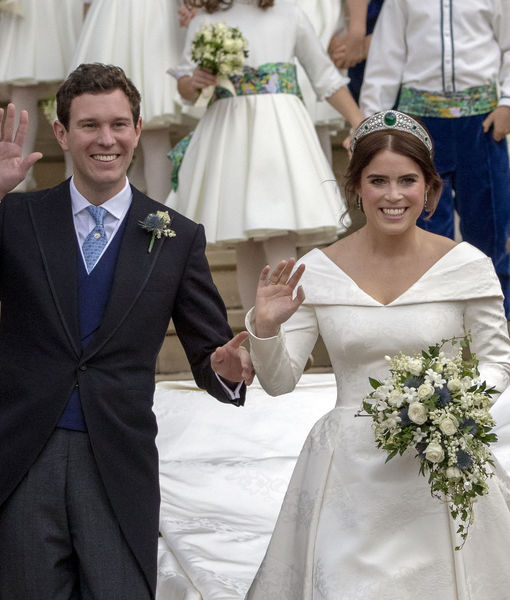 Pics! The Royal Wedding of Princess Eugenie