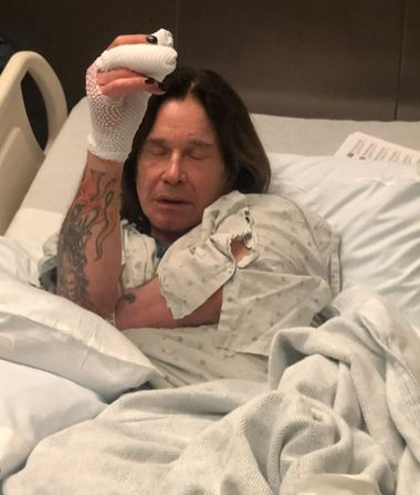 Hospitalized Again! Ozzy Osbourne Undergoes Additional Hand Surgery