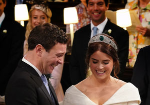 Pics! Princess Eugenie's Wedding Dress Showed Off Her Spinal…
