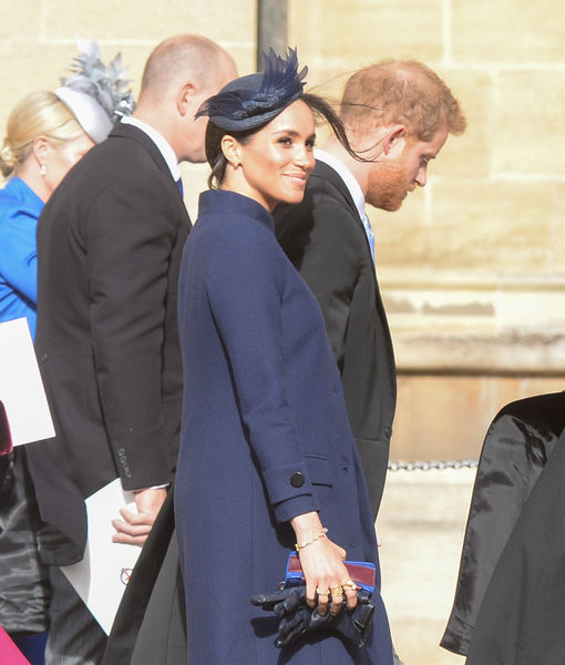 Pics! How Meghan Markle Concealed Her Baby Bump for Months