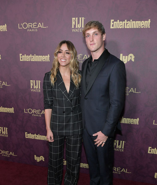 Chloe Bennet & Logan Paul Split