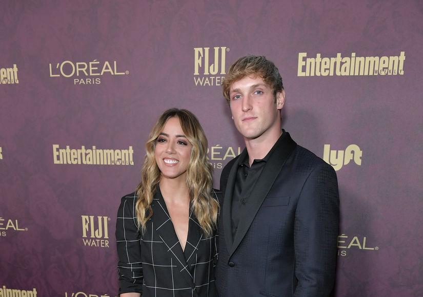 Chloe Bennet & Logan Paul Split