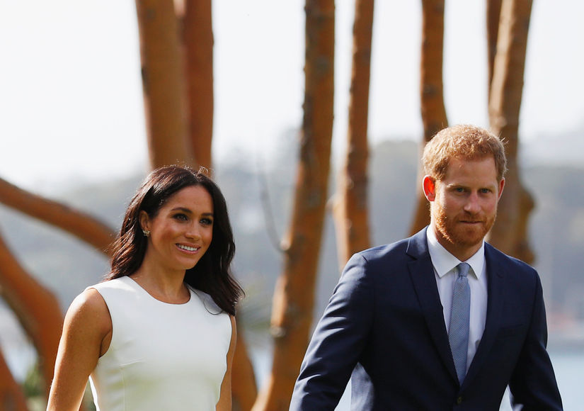 Baby Bump Alert! First Pics of Meghan Markle After Pregnancy Announcement
