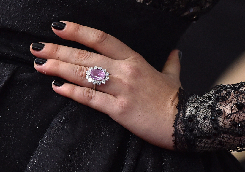 A Closer Look At Lady Gagas Engagement Ring And How It Compares To