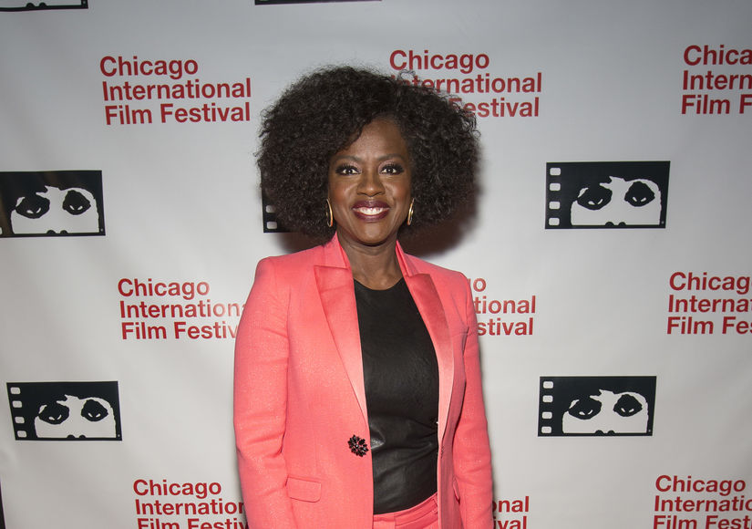Viola Davis Talks 'Widows' Love Scenes with Liam Neeson, Plus: How She…