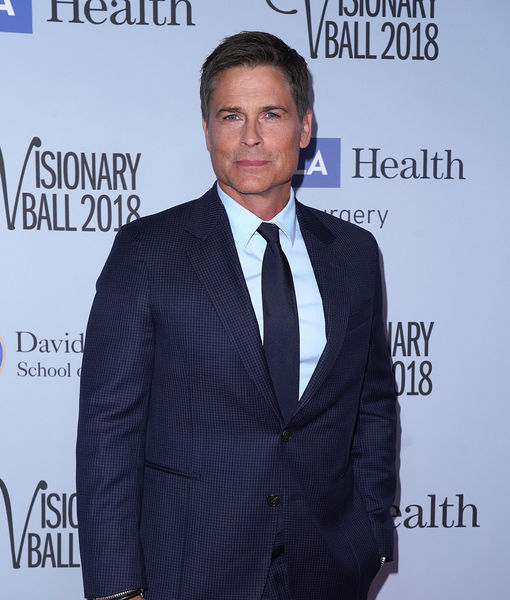 Rob Lowe Dishes on Gwyneth Paltrow and Brad Falchuk's Wedding