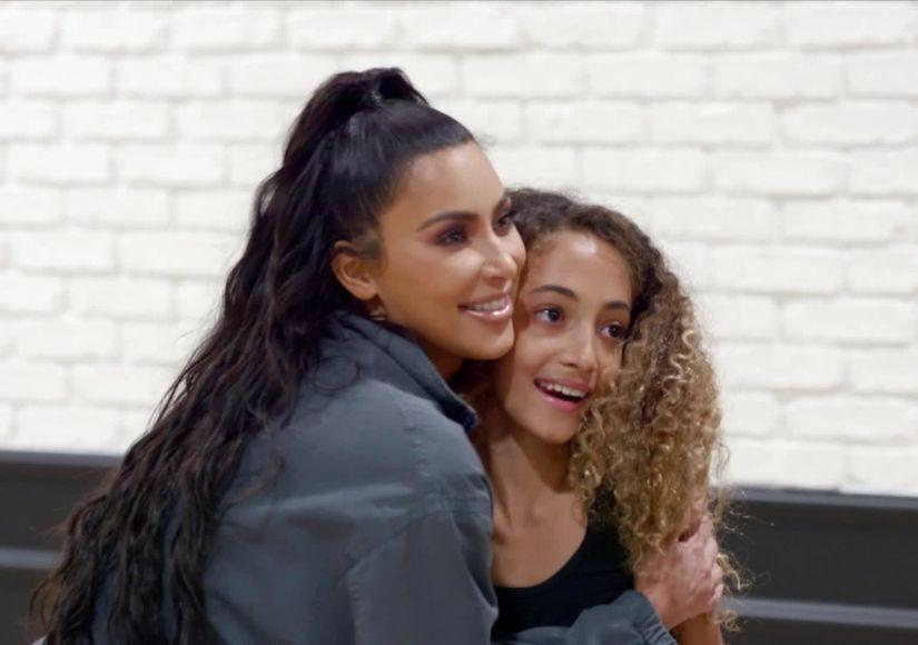 See Kim Kardashian Crash Sophia Pippen's 'DWTS: Juniors' Rehearsal