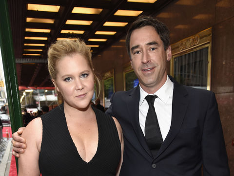 Amy Schumer's Ex-BF Is Living with Her and Husband Chris Fischer