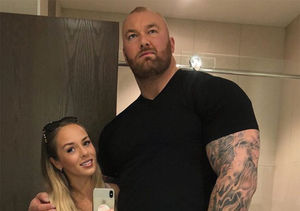 'Game of Thrones' Star Hafþór Júlíus Björnsson Marries GF Kelsey…