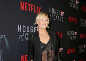 Robin Wright Talks About Her Busy Honeymoon