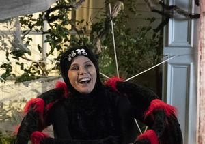 Watch! Julie Bowen Twerks in Black Widow Costume on 'Modern Family' Set