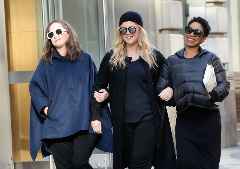 Pics! Amy Schumer Debuts Her Baby Bump