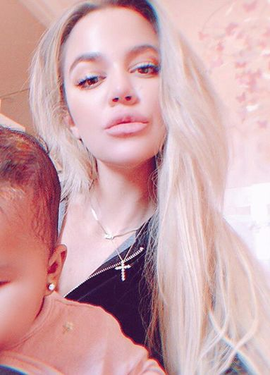 Khloé's Latest Pic of True: Baby on Board!