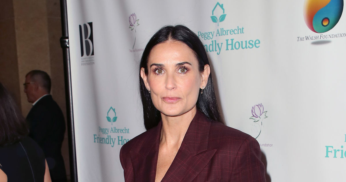 Demi Moore Gets Candid About Breaking The Cycle Of