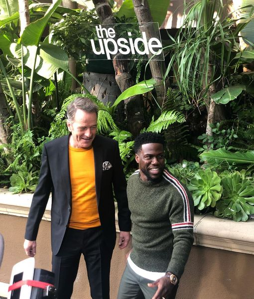 Bryan Cranston Dishes on His First Serious Conversation with Kevin Hart
