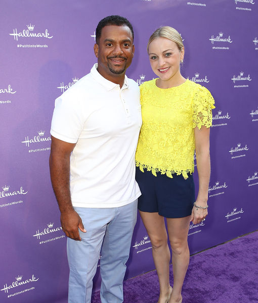 First Pic! Alfonso Ribeiro & Wife Angela Welcome Baby #3