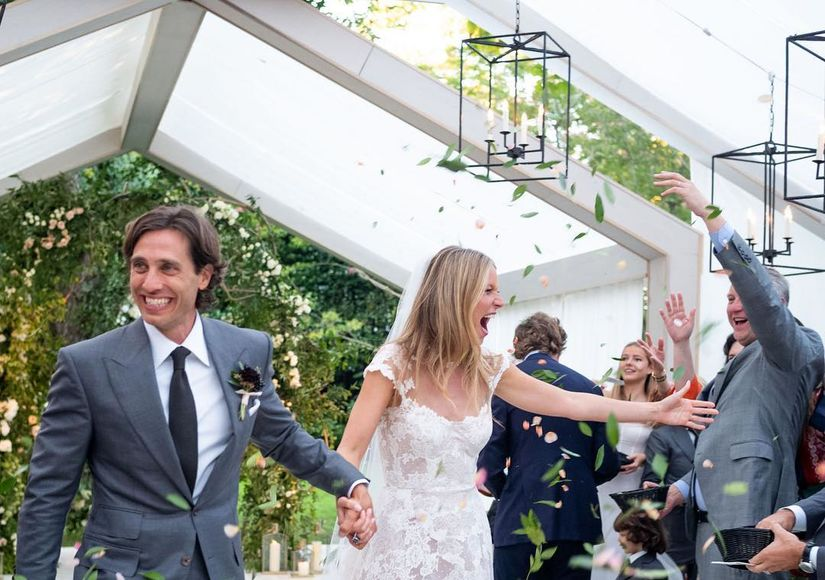First Wedding Photo! Gwyneth Paltrow Gives a Peek Inside Her Nuptials with Brad…