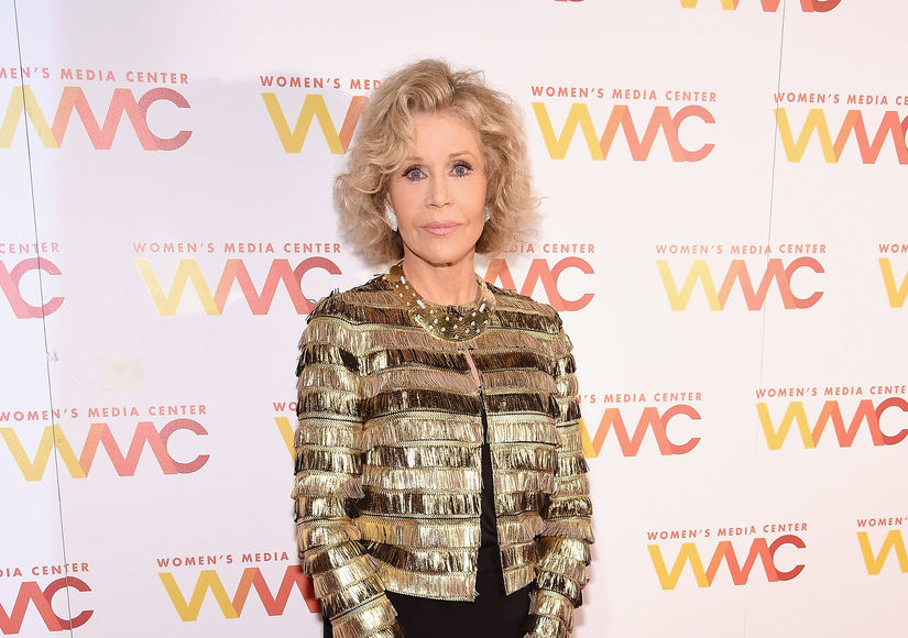 Jane Fonda Arrested