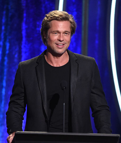LOL! Brad Pitt's Brother Doug Parodies Famous Scene from 'Se7en'!