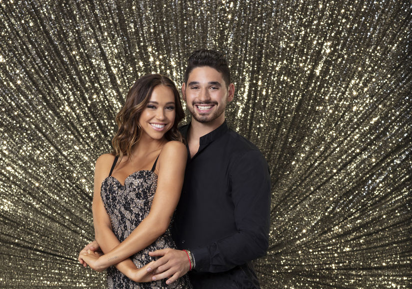 Alexis Ren & Alan Bersten Take 'Extra' Partners Test Before They Kiss on 'DWTS'