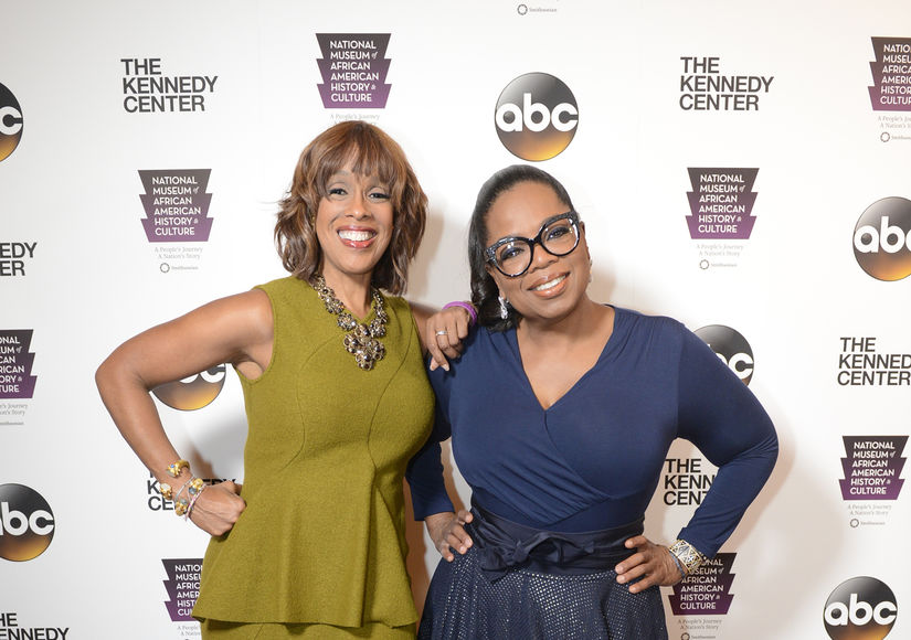 Gayle King Talks BFF Oprah Winfrey's Decision to Campaign for Stacey Abrams