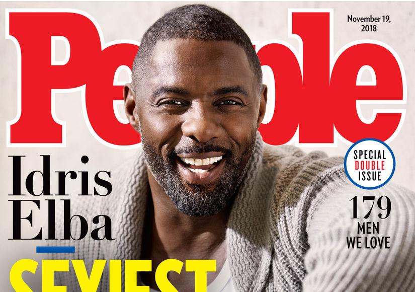 Idris Elba Named People's Sexiest Man Alive 2018