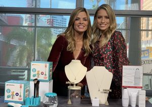 'Extra's' Pop-Up Shop: Makeup Brush Cleaners, Pearls, and Anti-Aging Devices