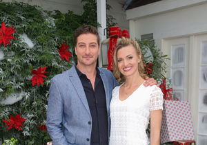 Brooke D'Orsay & Daniel Lissing Reveal How They Shot a Christmas Movie in Summer | ExtraTV.com