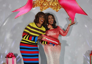 Gayle King Dishes on Spending the Holidays with Oprah