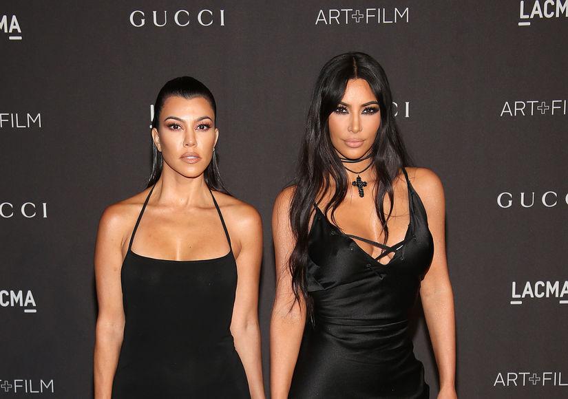 Kim & Kourtney Kardashian Evacuated After Woolsey Fire Hits Calabasas