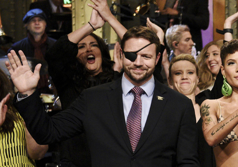 Congressman-Elect Forgives Pete Davidson on 'SNL'