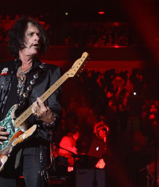 Joe Perry Hospitalized After Backstage Collapse