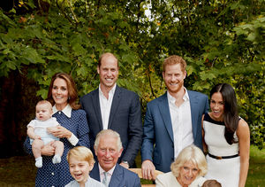 Family Photo! The Royals Pose for Prince Charles' 70th Birthday