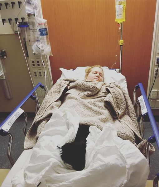 Amy Schumer Hospitalized Again