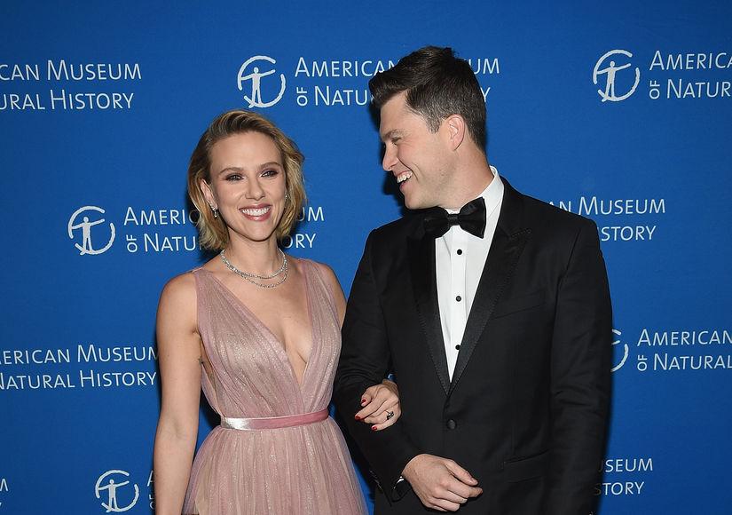 Weekend Update: Scarlett Johansson & Colin Jost Engaged!