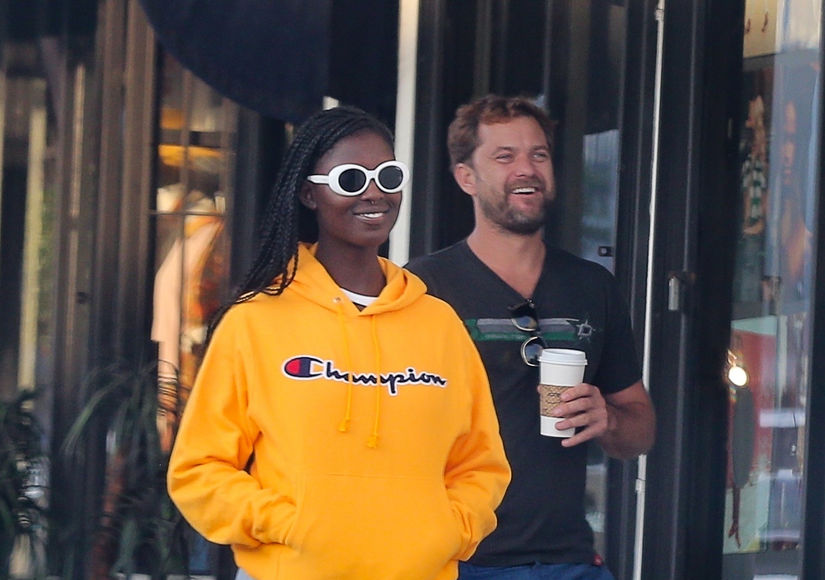 New Couple Alert! Joshua Jackson Steps Out with Jodie Turner-Smith
