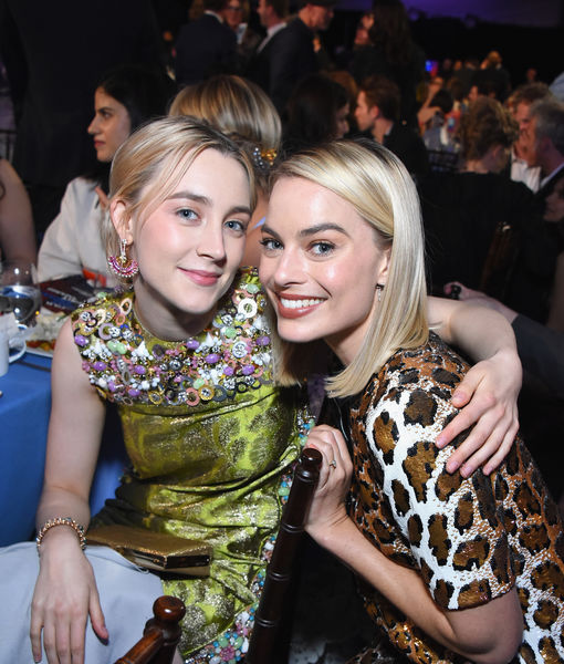 Margot Robbie & Saoirse Ronan Want to Meet Meghan Markle