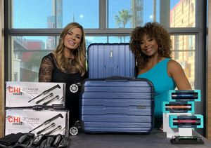 'Extra's' Pop-Up Shop: Styling Wands, Luggage, and Anti-Aging Syringes