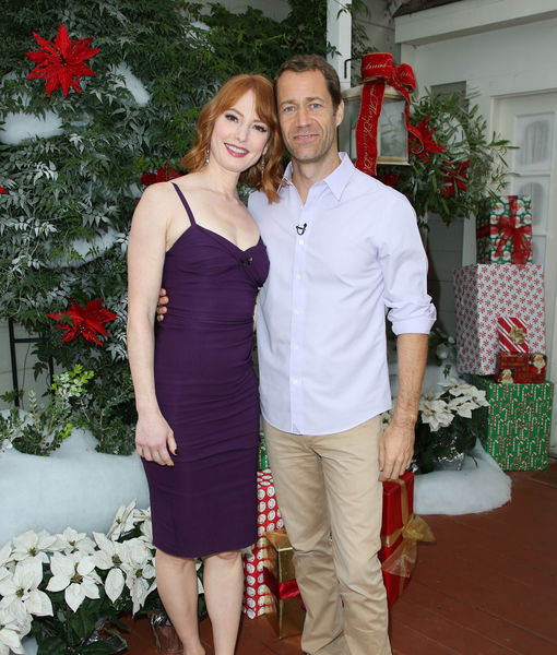 Alicia Witt & Colin Ferguson Talk Christmas Plans