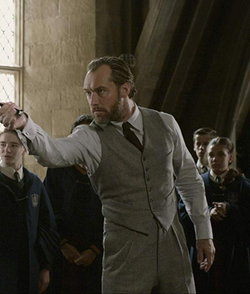 Jude Law on How He Prepared to Play Dumbledore in 'Fantastic Beasts 2'