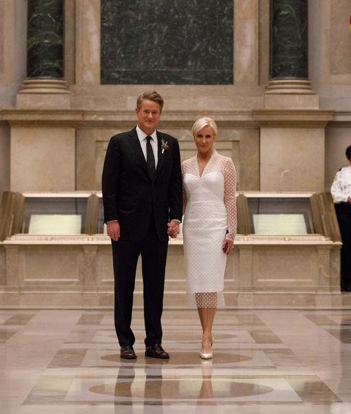 Real-Life TV Couple Joe Scarborough & Mika Brzezinski Got Married