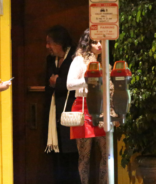 Pics! Al Pacino Steps Out with Much Younger GF Meital Dohan