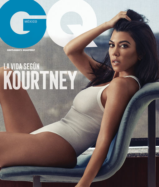 Kourtney Kardashian Shows Off Her Bare Booty in Sexy Photo Shoot for GQ Mexico