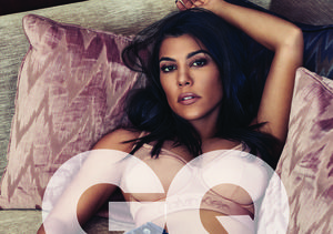 Kourtney Kardashian Shows Off Her Bare Booty in Sexy Photo Shoot for…