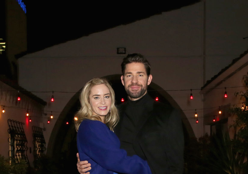 Emily Blunt Reacts to John Krasinski Crying During 'Mary Poppins Returns'