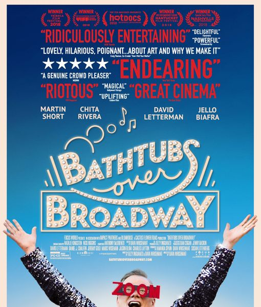 'Bathtubs Over Broadway': Why De Niro, Baldwin & Jackman Say You Can't…
