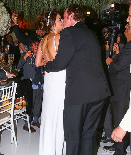 Wedding Pics! Quentin Tarantino Marries Much Younger Model GF