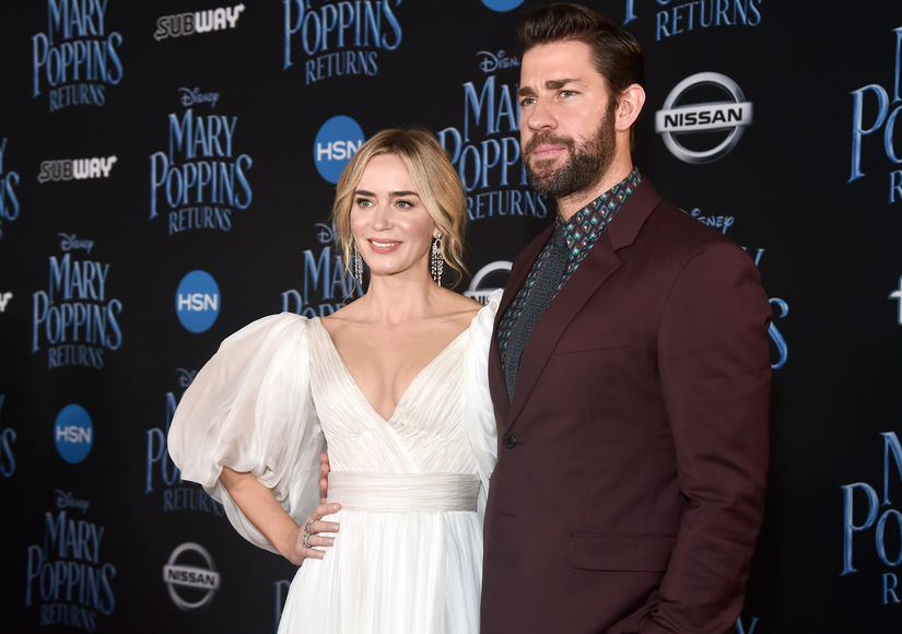 Emily Blunt Loves Turning John Krasinski into a 'Blubbering Mess'