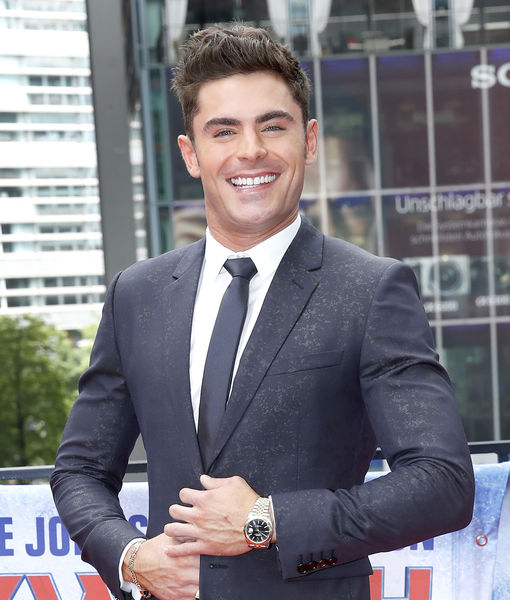 Pic: Zac Efron Shares 'Extremely Wicked' Transformation Into Killer Ted Bundy